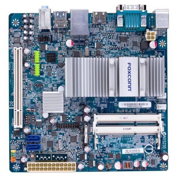 Foxconn D270С: малогабаритная платформа для ПК на Atom