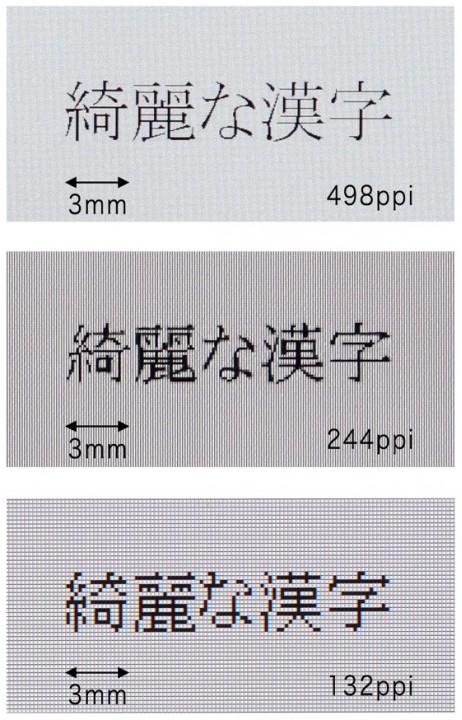 Разработан сверхчеткий мобильный ЖК-дисплей - 498 ppi