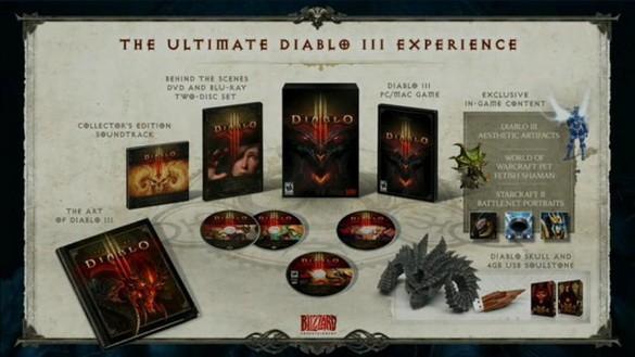 Blizzard продемонстрировала Коллекционное издание Диабло 3