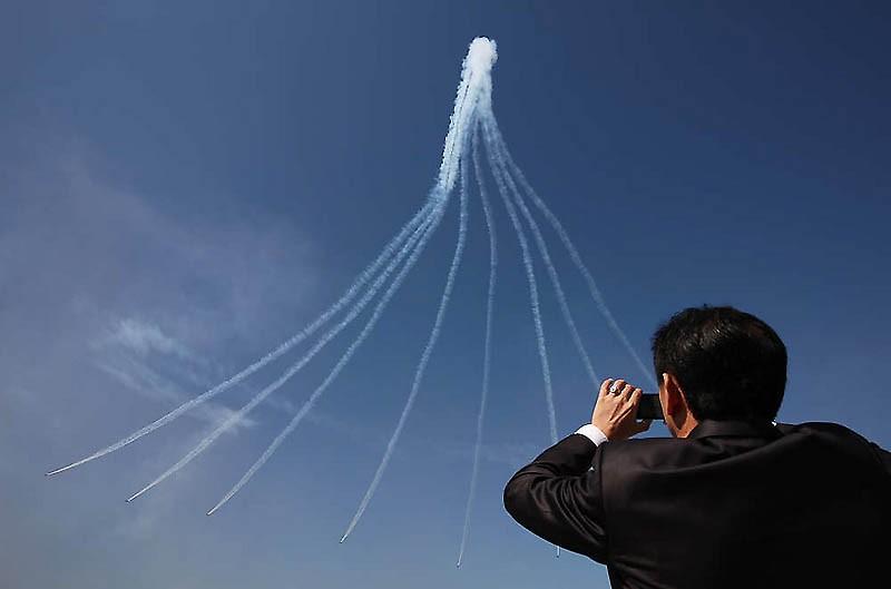 В Сеуле раскрылась Интернациональная аэрокосмическая демонстрация