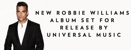 Свежий альбом Робби Уильямса выйдет следующей весной
