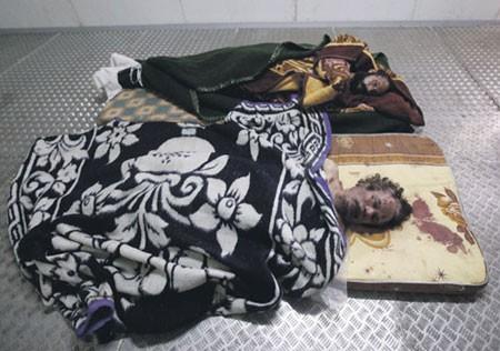 Сегодня похоронят Муамара Каддафи
