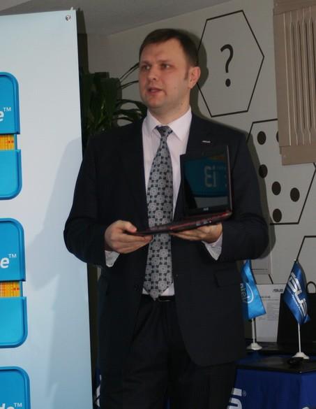 Первый ультрабук ASUS Zenbook уже в Украине