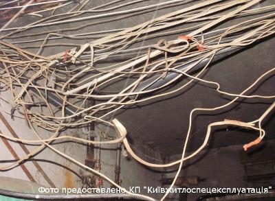 В Киеве разрезают не все проводные сети подряд