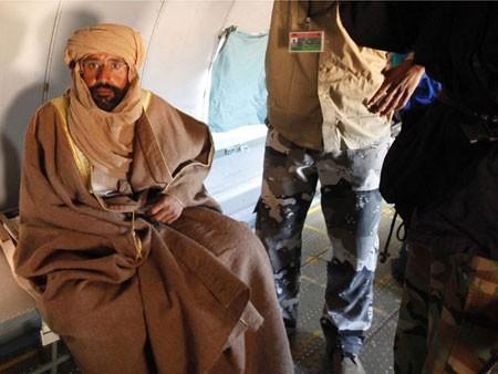 Вожак отдал сына Каддафи