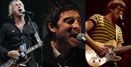 Paul Weller делает запись с Галлахером и Грэмом Коксоном