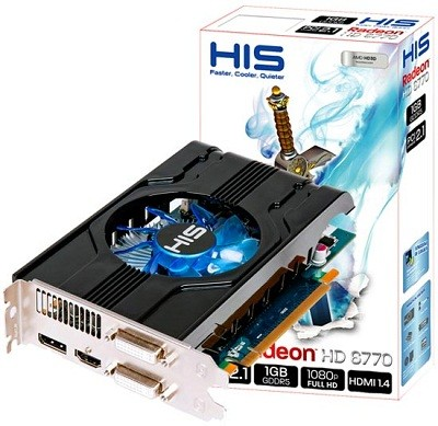 HIS делает еще одну версию карты памяти Radeon HD 6770