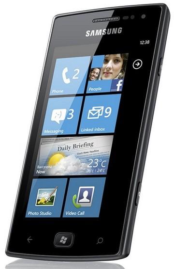 Omnia W: первый телефон на Виндоус Phone 7.5 - за 15000 рублей
