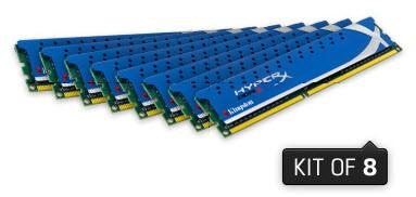 HyperX Дженесис: до 32 Гигабайт в наборе памяти