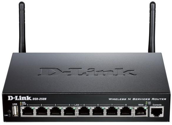 DSR-250N: компьютер Wifi с законной обороной