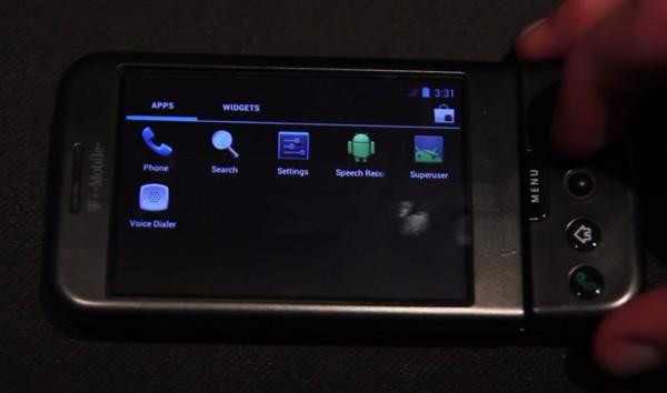 ОС Андроид 4.0 портирована на телефон T-Mobile G1