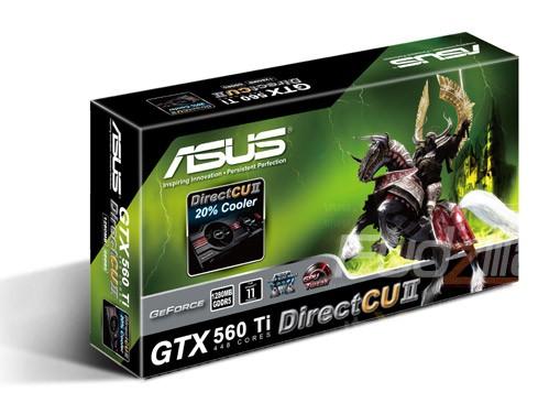 Новинка: ASUS GeForce GTX 560 Ti 448 CUDA во всей своей красе