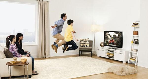 Майкрософт встраивает помощь Kinect в телеприемники