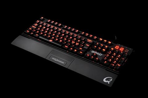 QPAD MK-85: Машинная клавиатура с NKRO с USB внешним видом