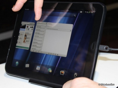 HP TouchPad опередил по известности Android-девайсы