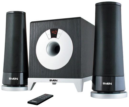 SVEN MS-106: Новая элегантная акустика формата 2.1