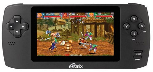 Ritmix RZX-50: Игровая переносная приставка  в РФ