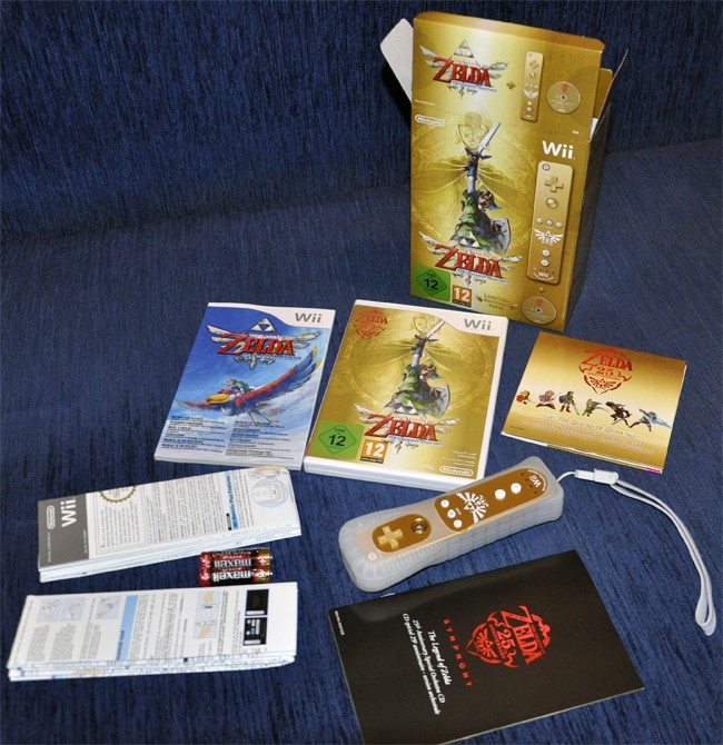 Legend of Zelda: Skyward Sword Limited Edition пришла в России