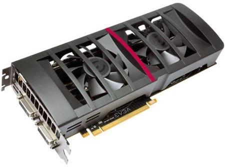 EVGA продемонстрировала собственную GeForce GTX 560 Ti 448 Cores