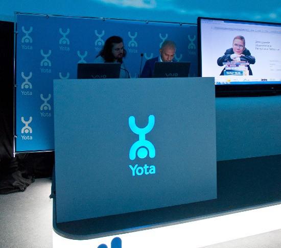Yota пускает сеть LTE в городе Москва  в начале марта