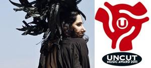 PJ Harvey дали премию Uncut Music Award 2011