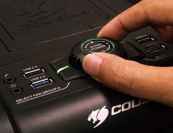 Cougar Evolution: необыкновенный каркас Full Tower для игроков в компьютерные игры