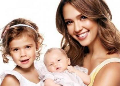 JetSetter.ua - НОВОСТИ Джессика Альба показала младшую дочь.
