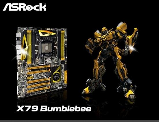 Классическые материнки X79 Оптимус Прайм и Bumblebee