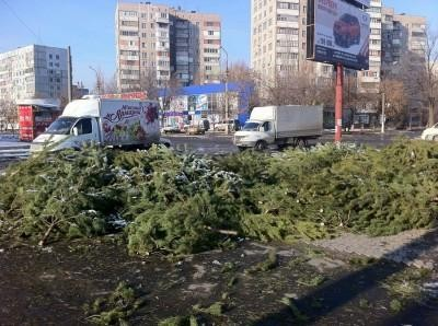На Новый год украинцы выкидывают в мусорник 470 млн