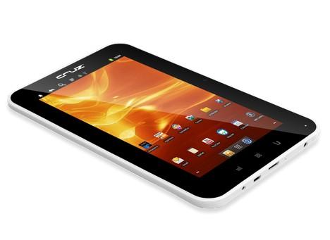 CES 2012: планшетник Velocity Micro Cruz T507 на Андроид 4.0