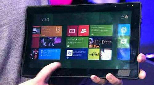 ASUS делает пресс релиз планшетника под Виндоус 8 на ARM