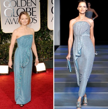 Самые лучшие платья «Золотого Глобуса» (ФОТО)