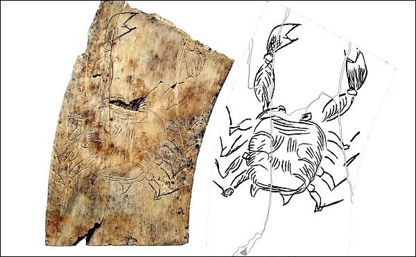 В Хорватии обнаружена старая астрологическая матрица