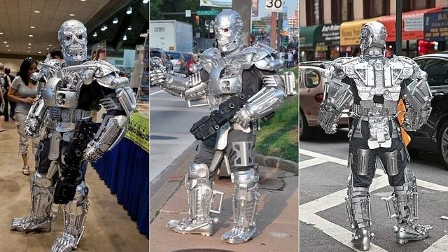 Трансформеры на улицах Бруклина