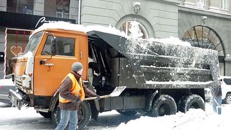 Из Киева увозят 15 миллионов тонн снегопада