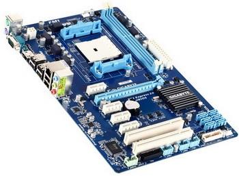 Gigabyte GA-A55-S3P для микропроцессоров на сокете AMD FM1