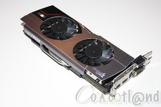 Графический катализатор MSI GeForce GTX 680 Twin Frozr III