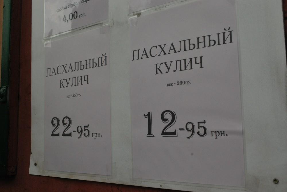 Куличик от 250 грн