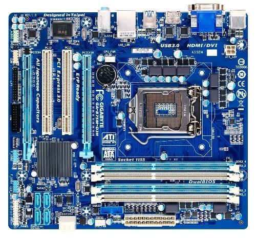 Оперативные памяти на чипе Intel B75 для большого бизнеса