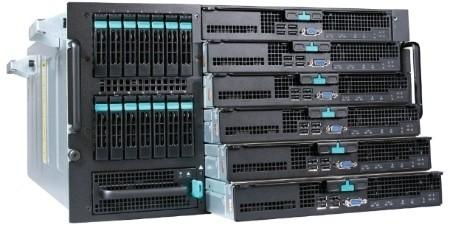 Intel делает демонстрацию энергоэффективных Xeon и Atom