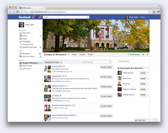 В Фейсбук вышли секретные компании для готовящихся