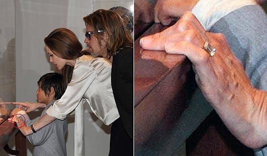 Анджелина Джоли и Абсурд Питт официально помолвлены (ФОТО)