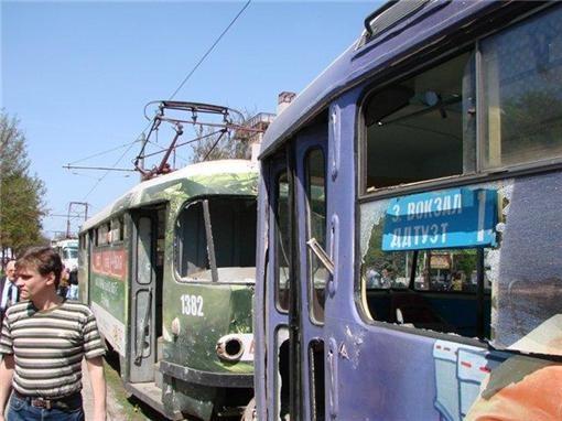 В городе Днепропетровск  прогремели 6 взрывов (видео)