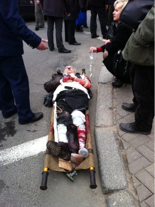 Твиттер бушует дискуссиями взрывов в городе Днепропетровск
