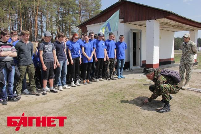 На Черниговщине проходит военно-патриотический сбор
