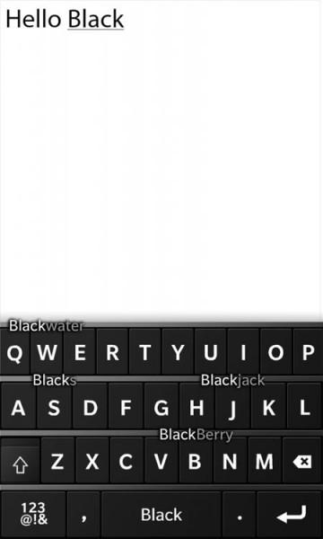 BlackBerry 10: Многозадачность + клавиатура