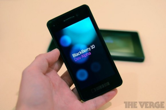 BlackBerry World 2012: Представлен BlackBerry 10 Dev Alpha