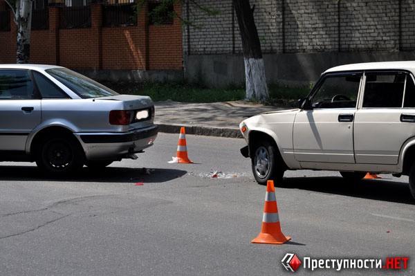 ФОТО: Собака повлекла за собой ДТП