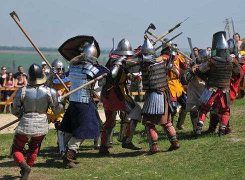 В Хотинской крепости прошел пир «Средневековый Хотин»