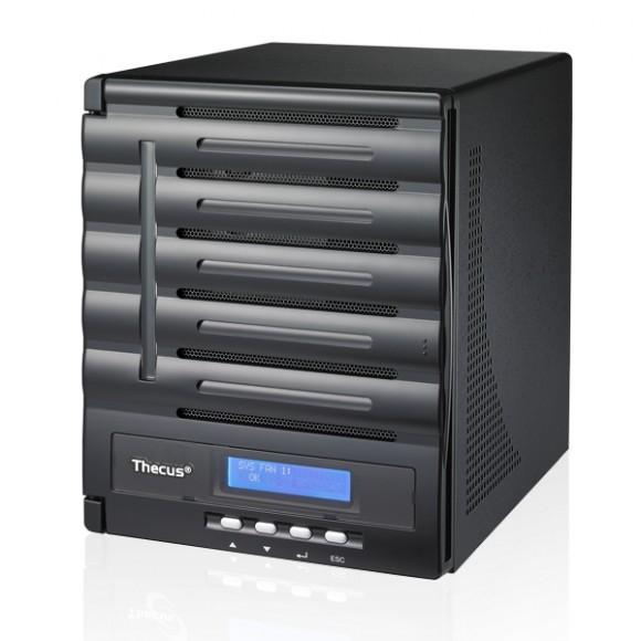 Thecus N5550: Сетевой накопитель на 5 дисков